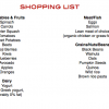 23 Top Foods You Should Be Eating + Healthy Grocery Shopping List