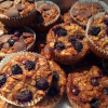 Baked Oatmeal Muffins – Almost Vegan, Gluten-Free, Perfect for Breakfast