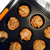 Almond Butter Chocolate Chip Oatmeal Breakfast Muffins (vegan, gluten-free)