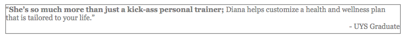 testimonial kick-ass personal trainer