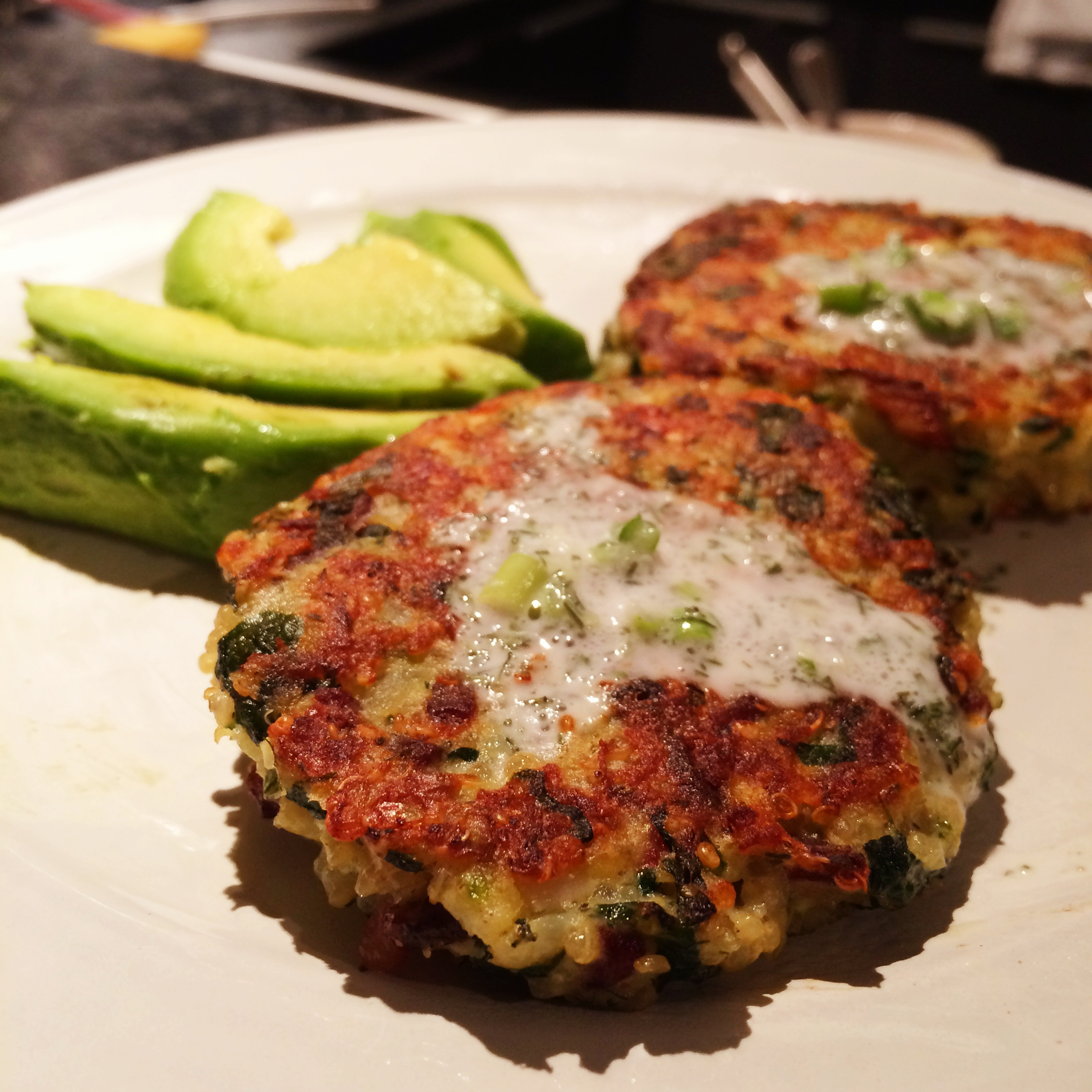 Greek-Style Spinach, Quinoa, Feta, Potato Burgers – Vegetarian ...