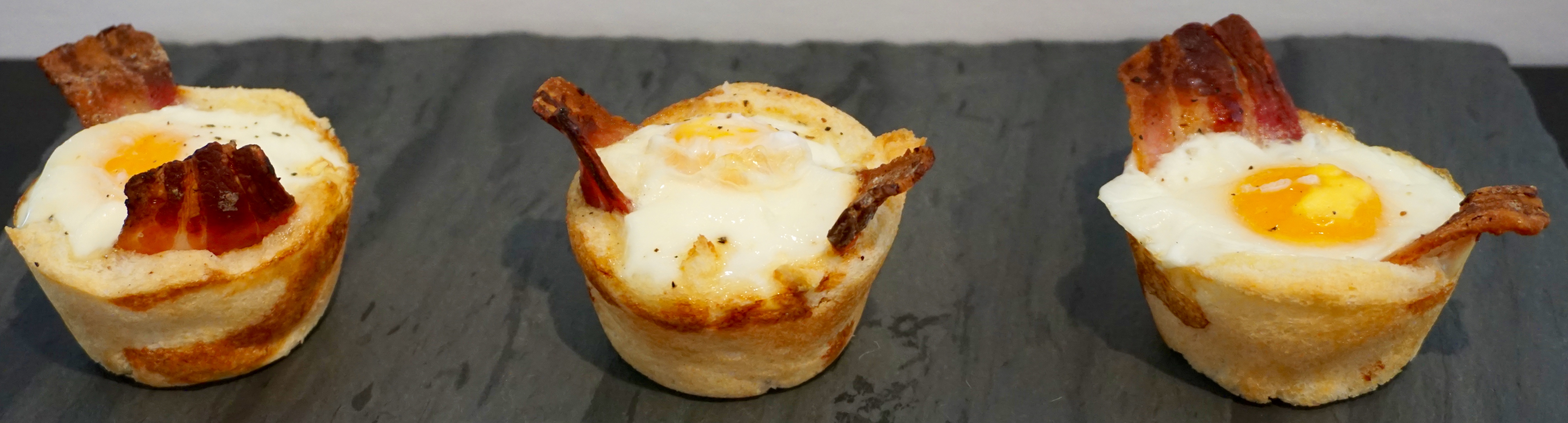 Bacon Egg Toast Muffin Pan Wow Diana Antholis